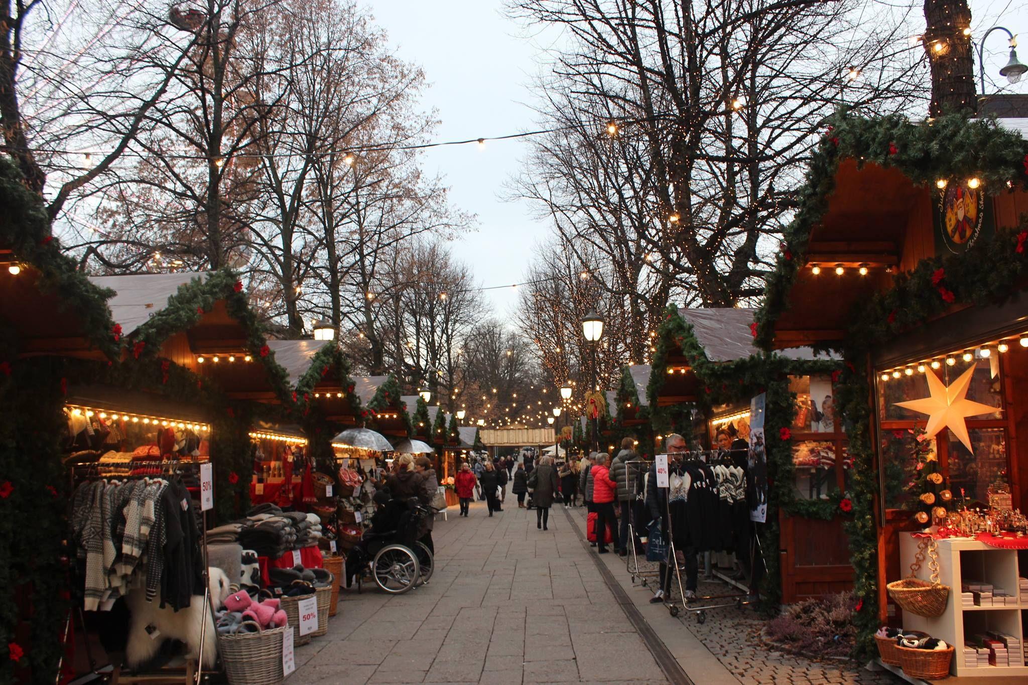 Christmas market, Oslo, Norway | European Christmas | Pinterest ...