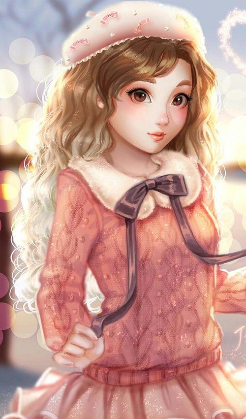 Art Fashionable And Makeup Image Illustration Girl Art Girl Art