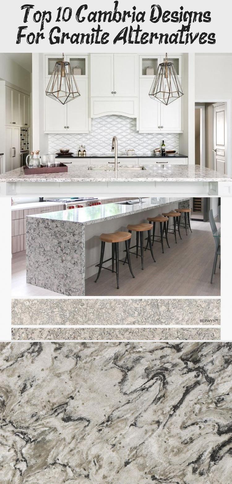 Top 10 Cambria Designs For Granite Alternatives Gray Kitchen Countertops Cambria Countertops Countertops
