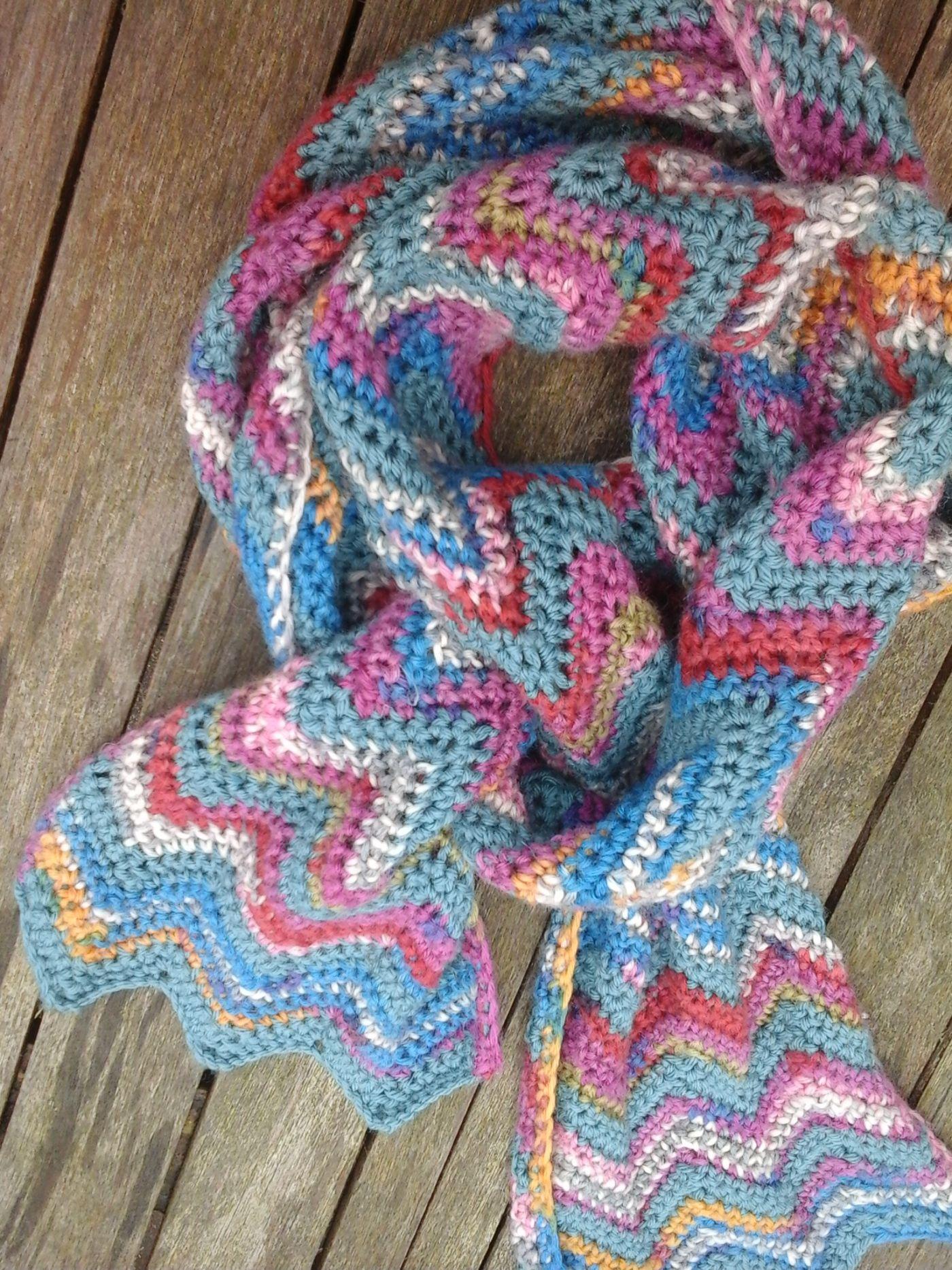 new zig zag scarf image   chevron scarf   Pinterest   Color