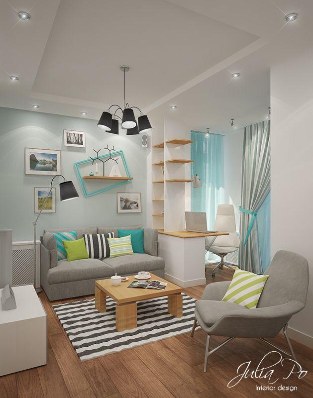 salón azul, blanco y gris deco Pinterest Perdida, Estilo y