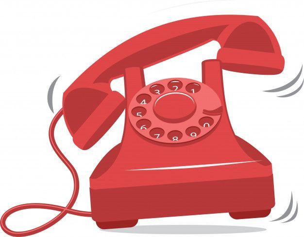Old Red Vintage Phone Ringing Vintage Phones Old Phone Phone
