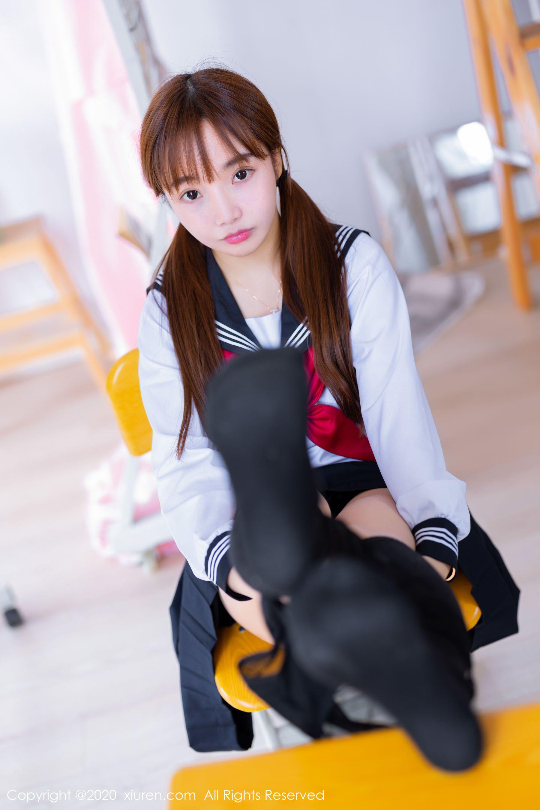 秀人xiuren no 2196 团团子 una 童颜巨乳jk制服 写真集高清大图在线浏览 新美图录in 2021 thumbs up
