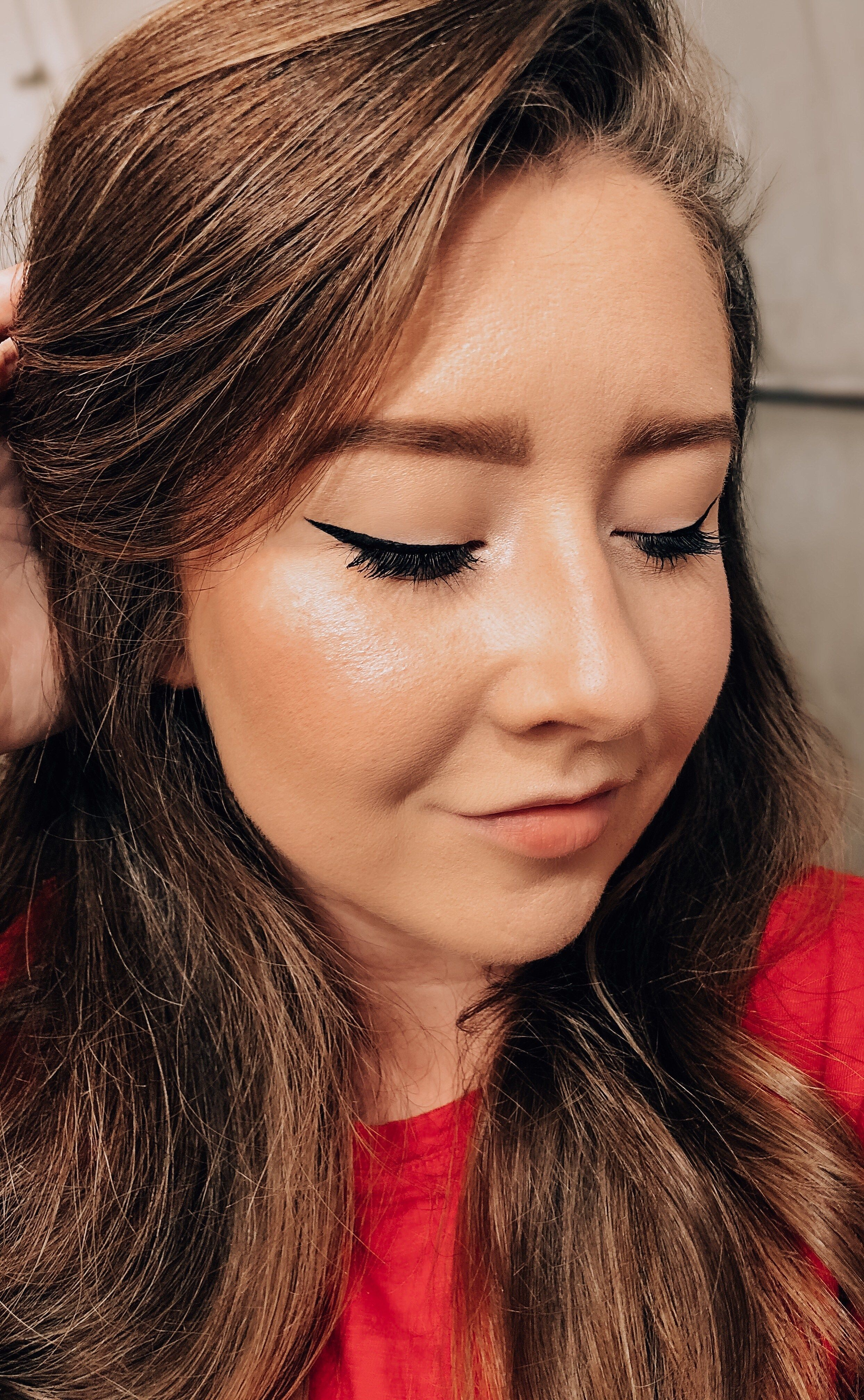 Easy Winged Eyeliner Tutorial Candidly Kristianna in