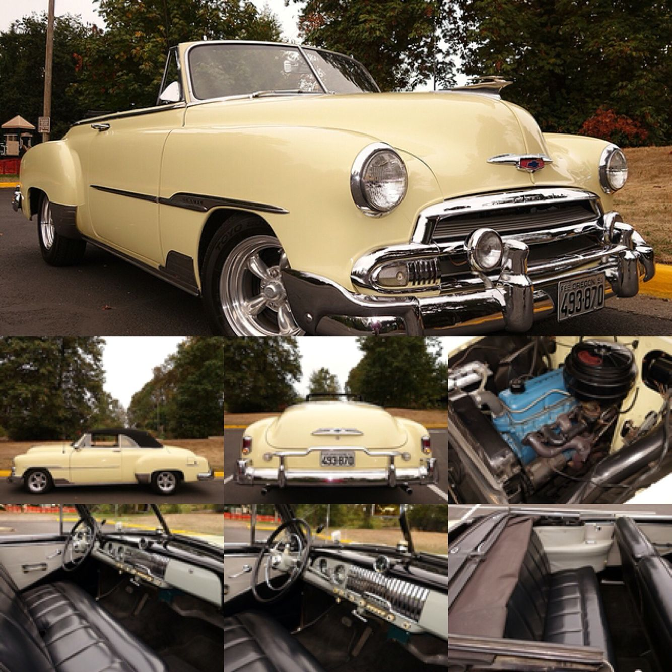 1951 Chevrolet Deluxe Convertible Model To 2134 This Outstanding Car Is Truly One Of