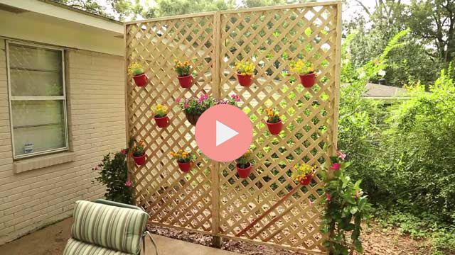 Watch this video to find out how to build a privacy wall or fence ...