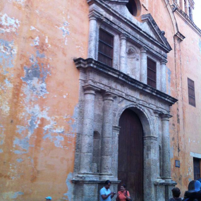 La iglesia de Santo Domingo.