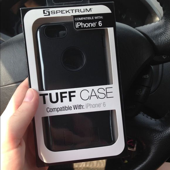 iPhone 6 protective case Black, 3 layers Other