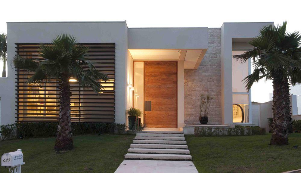decora o de fachada porta casa de valentina casas On casa villa decoracion exterior fachada
