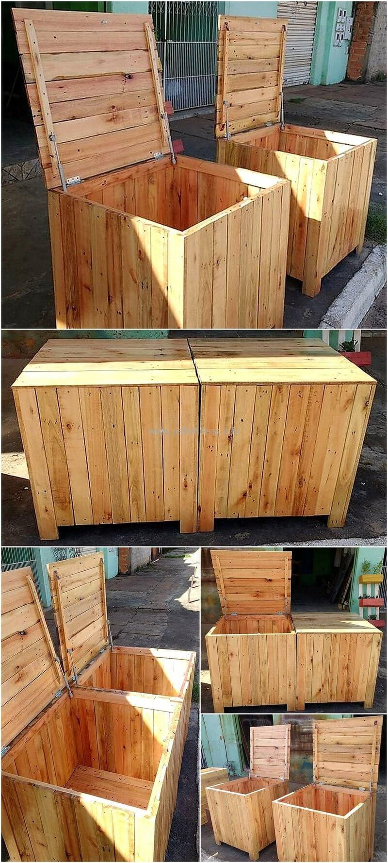 60 Brilliant Wood Pallet Creations by ReciclaPaletes ...