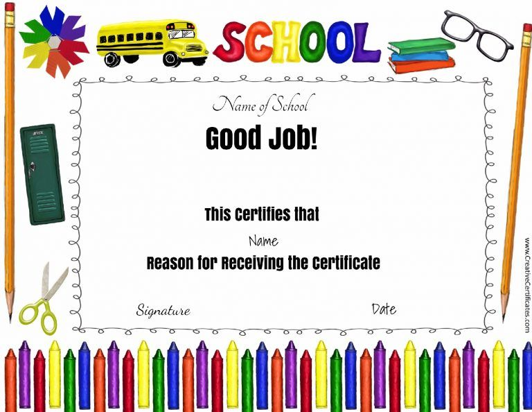 good job award All about Social Pinterest Certificate - free printable perfect attendance certificate