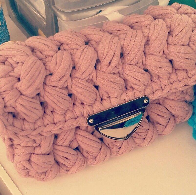 сумка зефирка из трикотажной пряжи в наличии и на заказ мои