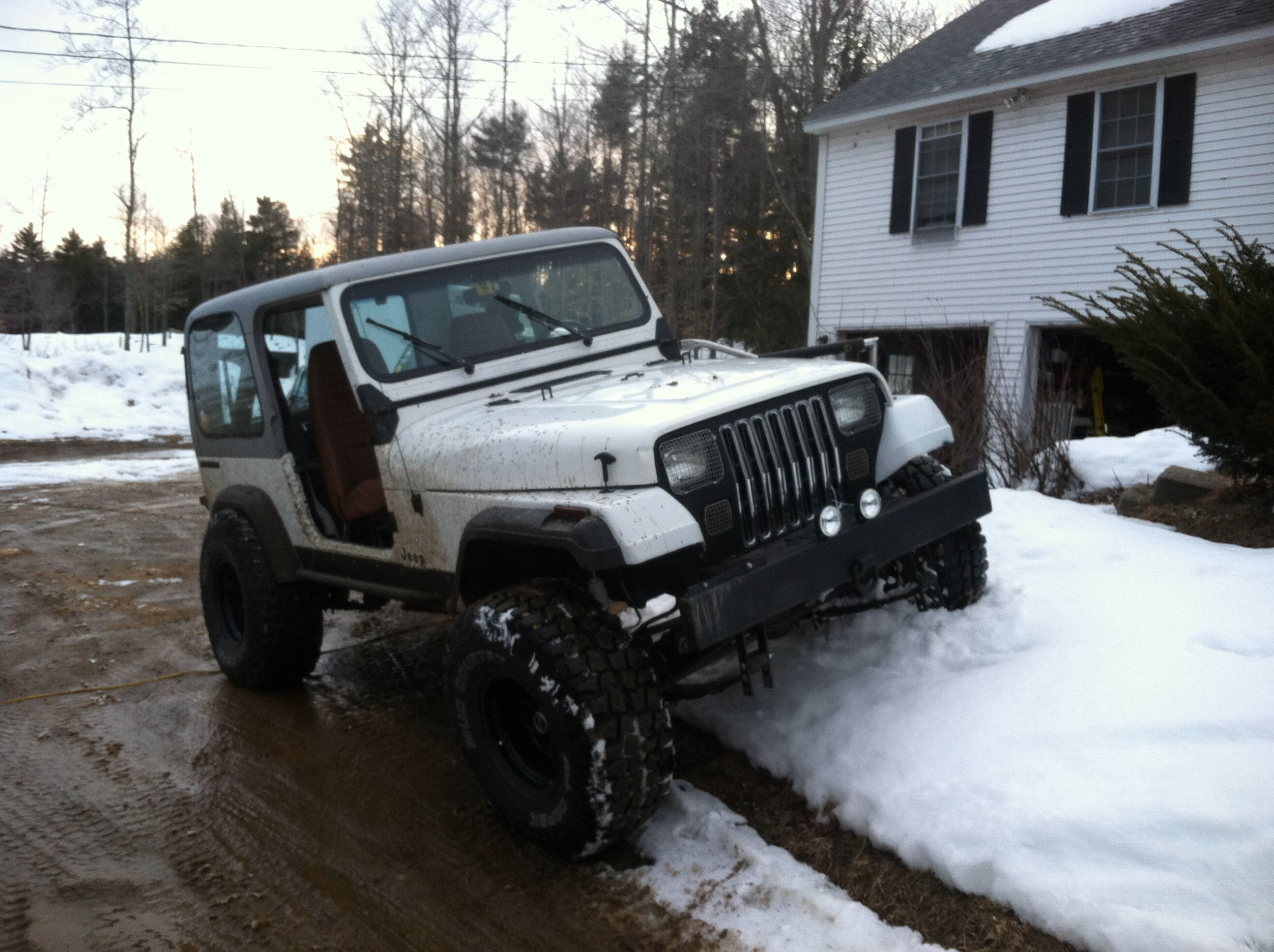 Betty the 89 yj was my second jeep she had a 4 inch sua lift with a