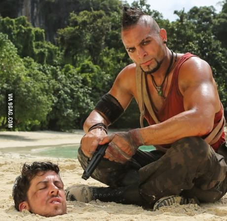 This Far Cry 3 cosplay is the definition of insanity!