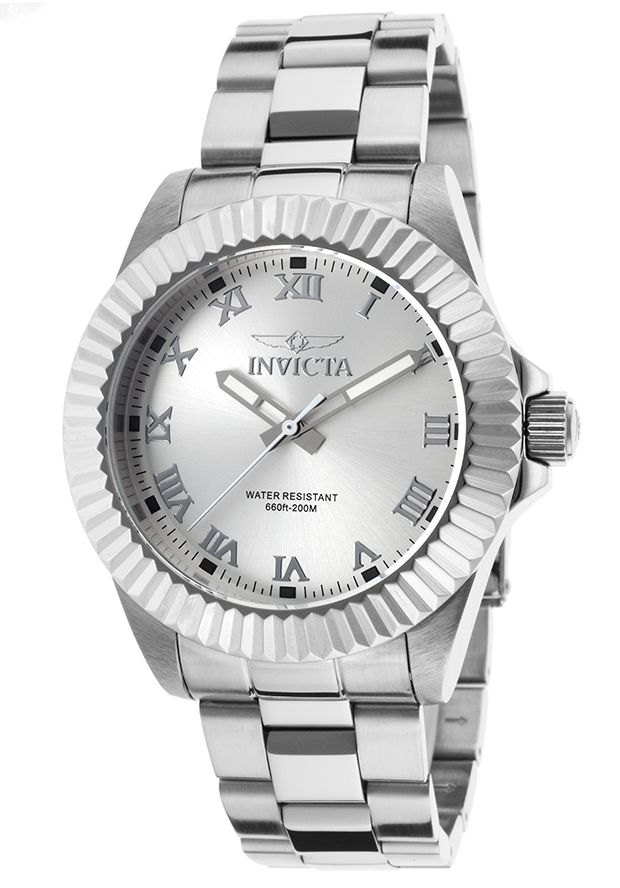 Invicta Men's Pro Diver Stainless Steel Silver-Tone Dial - Watch 16736,    #Invicta,    #16736,    #WatchesDiverQuartz