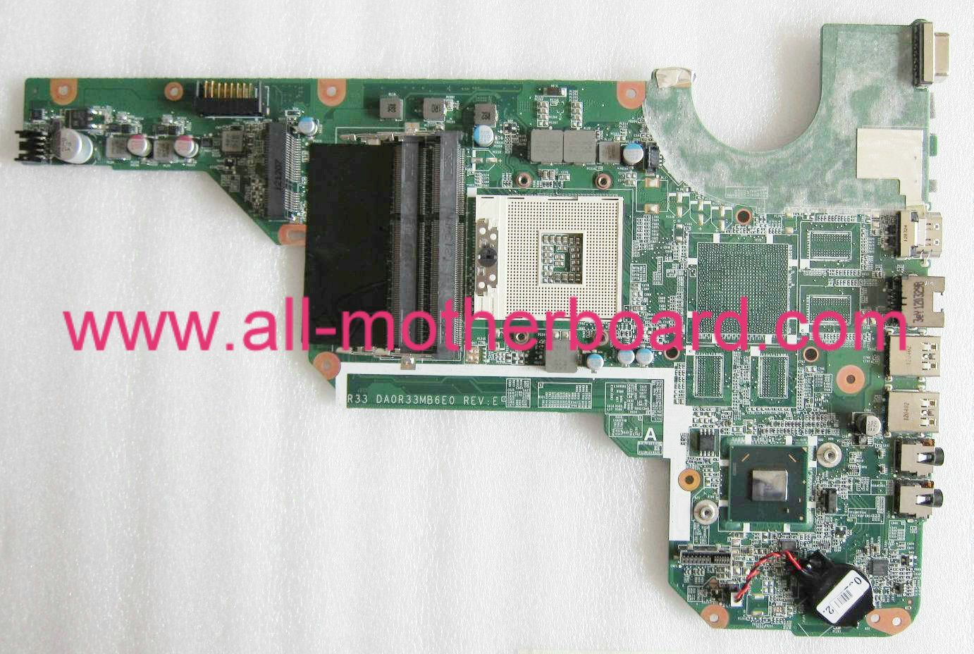 Replacement for HP DA0R33MB6D0 Laptop Motherboard