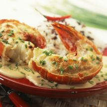 Photo of Baked lobster tail