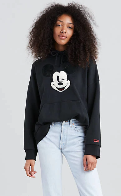 be1d9e156fe8 Levi s® X Mickey Mouse Graphic Oversized Hoodie - 80 ...