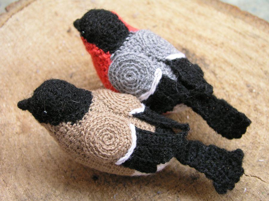 Amigurumi Bird Tutorial : Crochet bullfinch bullfinch crochet and tutorials