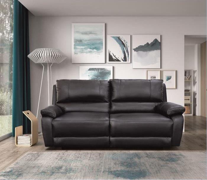 date de sortie: bbbfc b3613 ALFRED Canapé de relaxation électrique 3 places en cuir pas ...