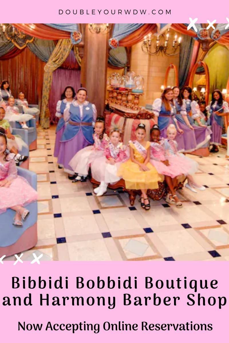 Bibbidi Bobbidi Boutique Harmony Barber Shop Pirates League Now