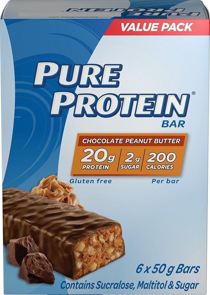 Pure Protein Chocolate Peanut Butter GlutenFree Value