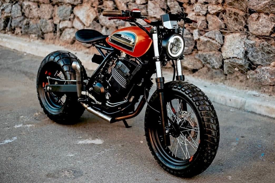 Xr250 Aggressor 001 In 2020 Cafe Racer Bikes Cafe Racer Motorcycle Magazine
