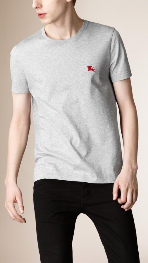 a4e1deb0b Burberry Brit Liquid Soft Cotton T-shirt | fashion | Polo t shirts ...
