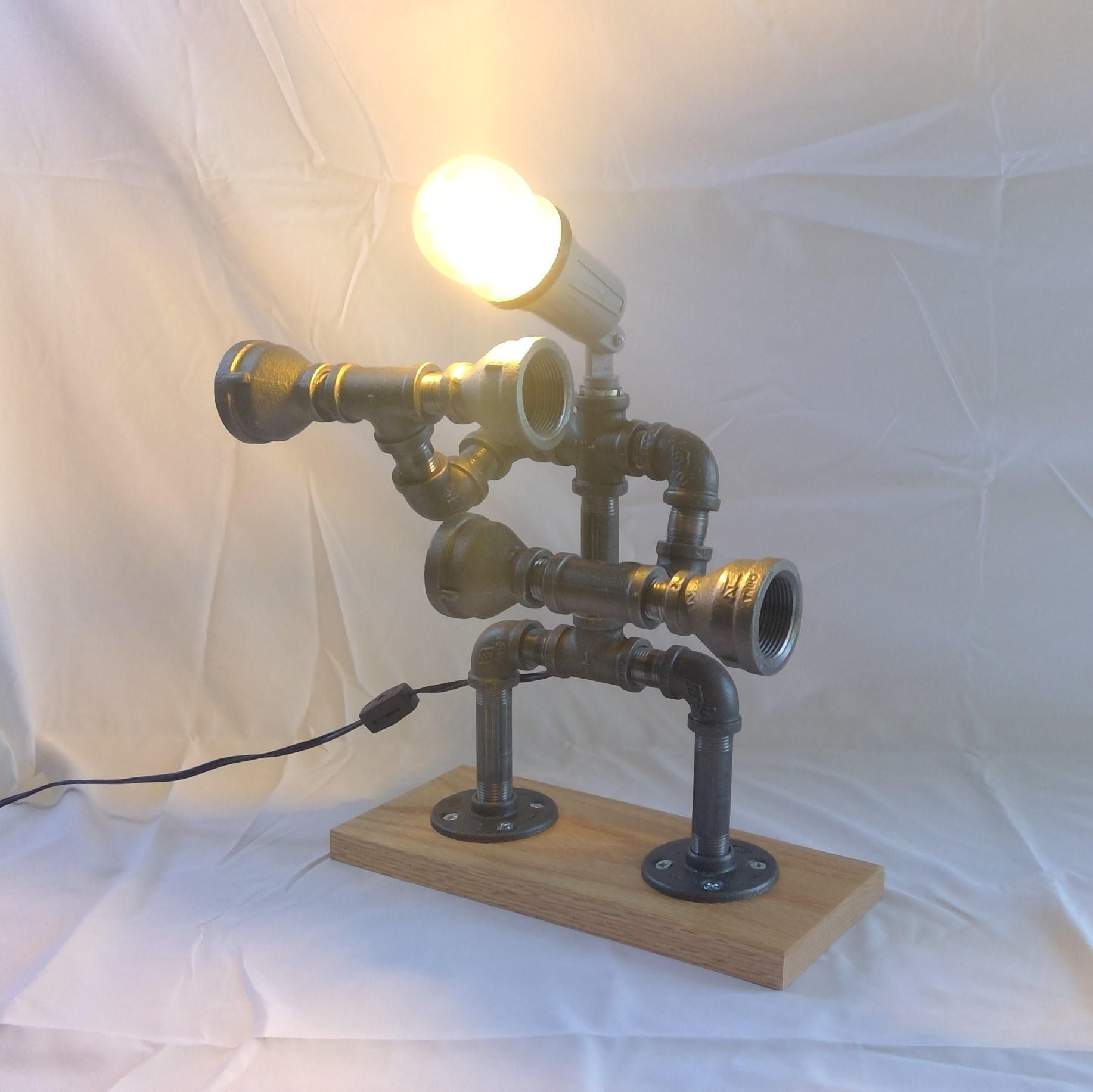 modern sales iron yasemen lamp of large pipe touch