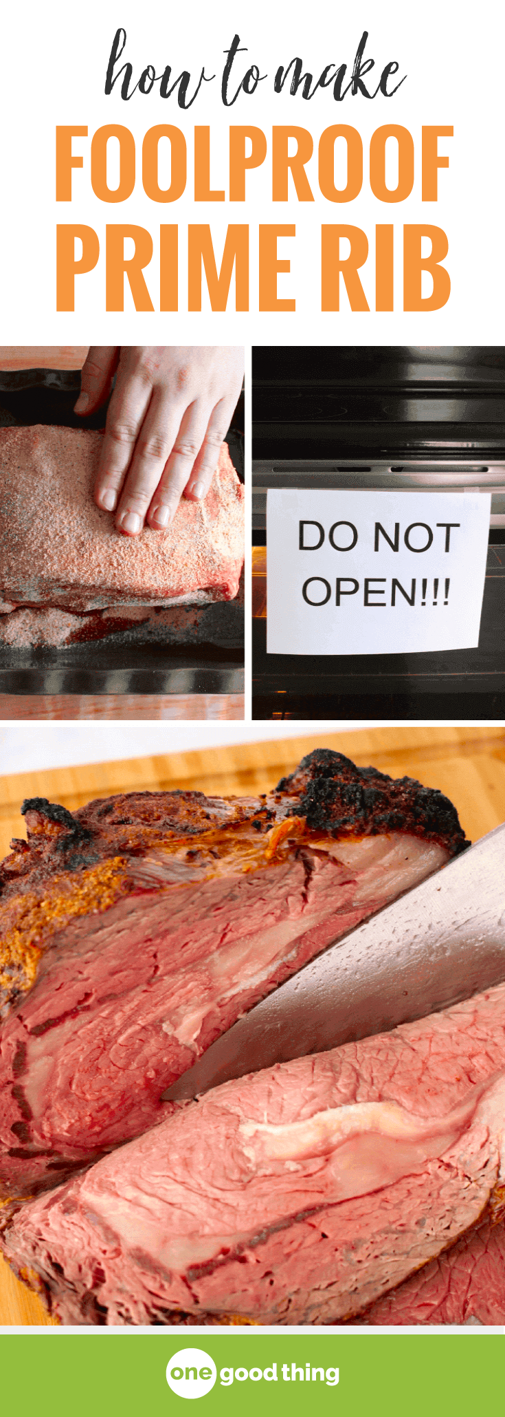 You Can Make Prime Rib I Promise This Method Is Foolproof And The Results Are So Delicious This Prime Rib Will Be The Rib Recipes Recipes Prime Rib Recipe