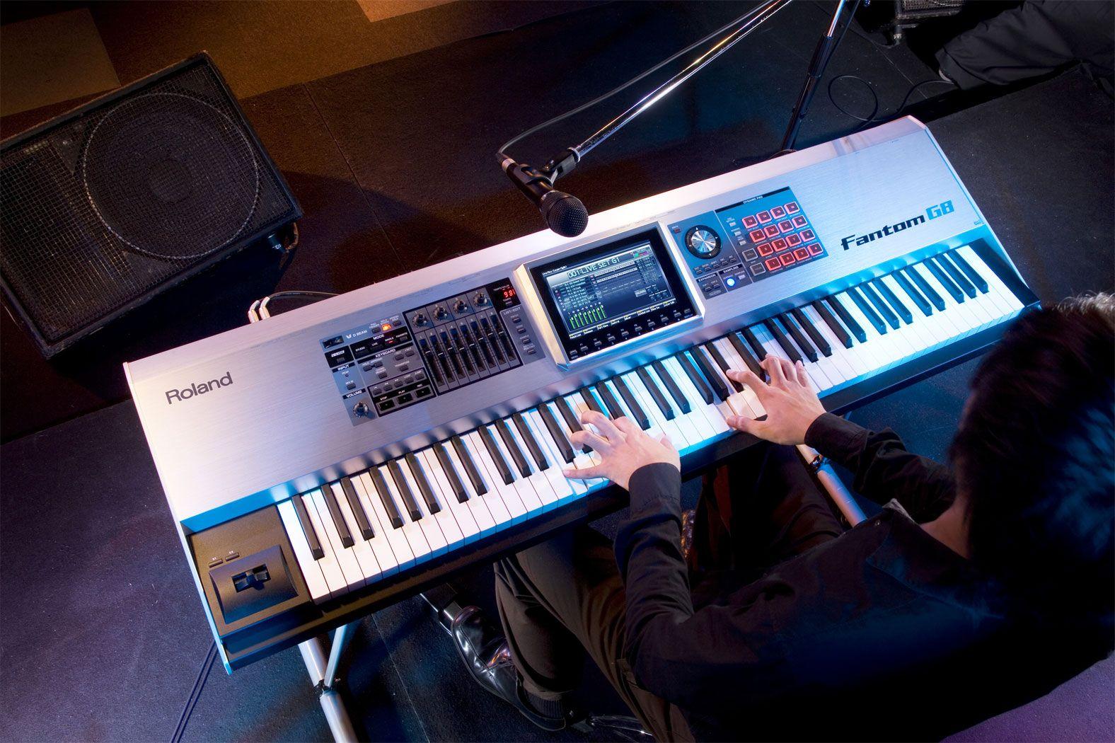 roland fantom g8 workstation keyboard keyboard in 2019 roland keyboard keyboard fun to. Black Bedroom Furniture Sets. Home Design Ideas