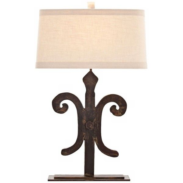 Arteriors Home Blackburn Cast Iron Table Lamp 1 830 Bam Liked On Polyvore Featuring Home Lighting Table Lamps Arteriors Table Lamp Iron Lamp Table Lamp