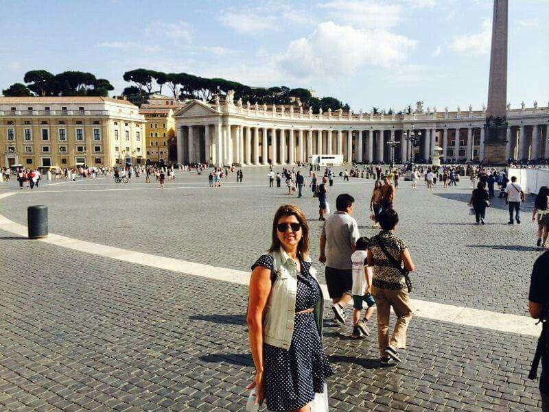 Vaticano  - Itália 2014 Praça de São Pedro