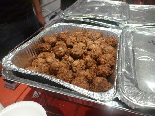 Chef: Chris Hamil    Meatball Vitals: Fried Pork, Bacon, Cheddar, Meatball