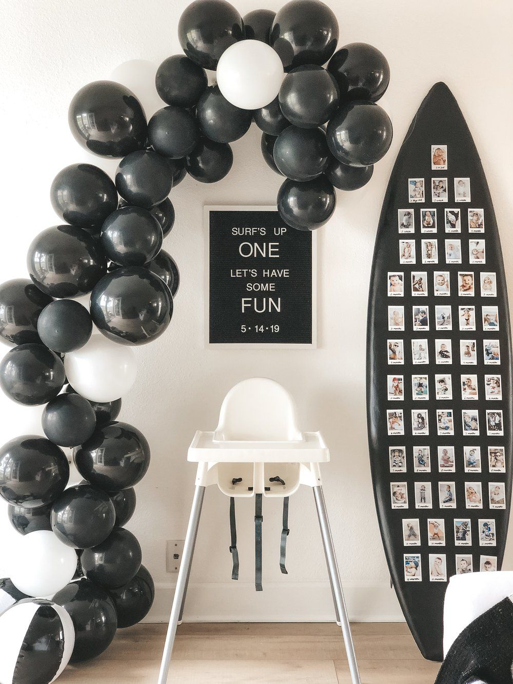 Diy Balloon Arch Tips Tricks Balloon Diy Black And White