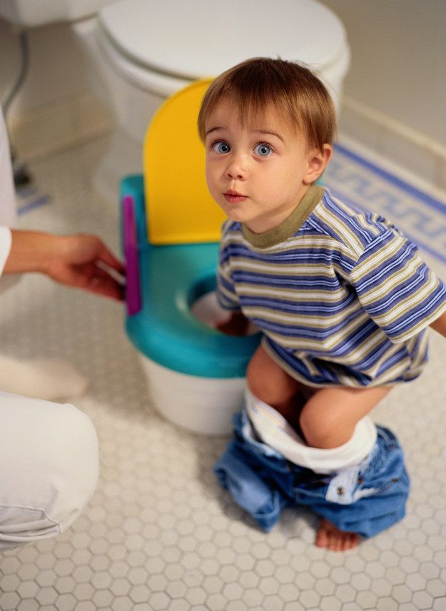 Many kids have no trouble learning to pee in the toilet, but are deathly  afraid of going No. 2 in it.   21 Weird Things No One Tells You About Having  A Kid