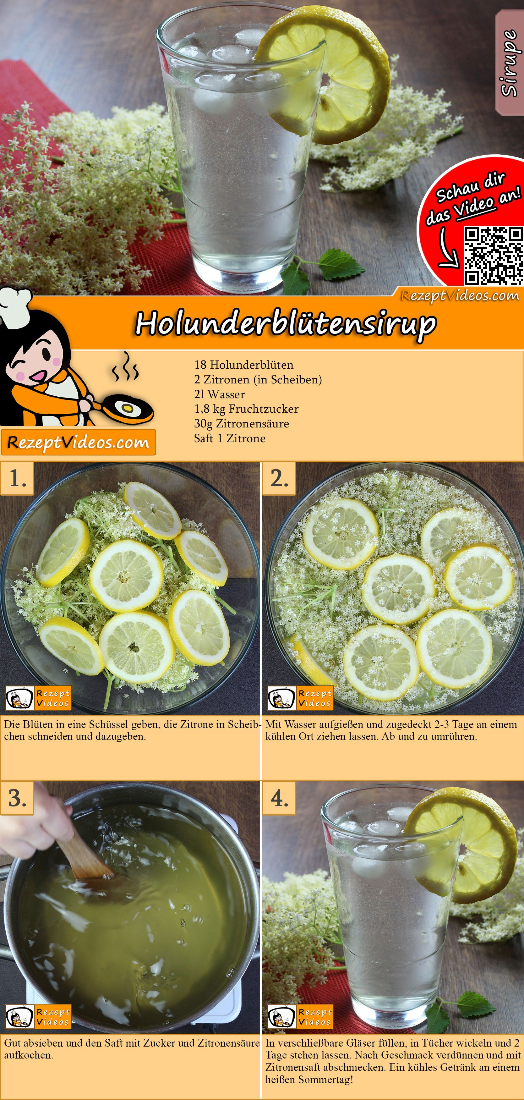 Photo of Elderflower Sirup Oppskrift med video – Søt elderflower Sirup