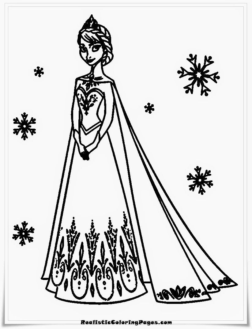 Frozen Coloring Books For Kids Elsa Frozen Coloring Lets Anna And Videos Games Free Line Elsa Coloring Pages Frozen Coloring Pages Disney Coloring Pages