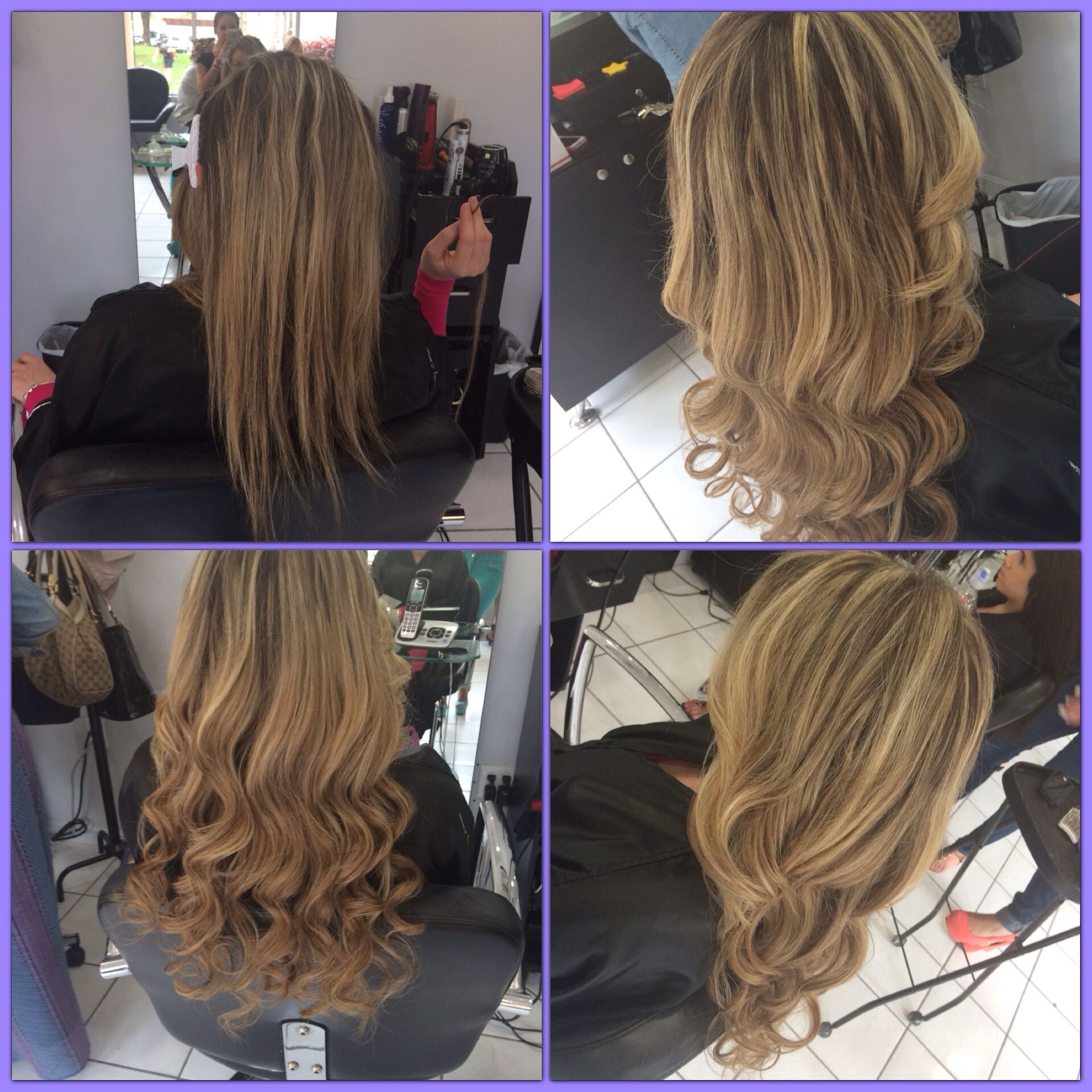 Hair Extensions By Eternity Beauty Salon Miami Hair Extensions By