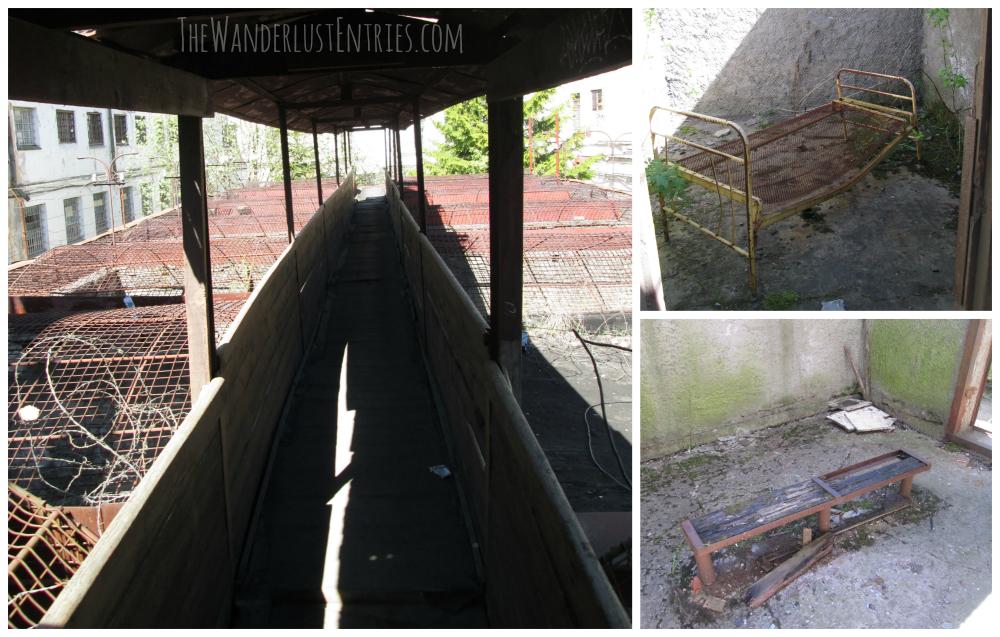 visiting an abandoned Estonian prison Outdoor decor