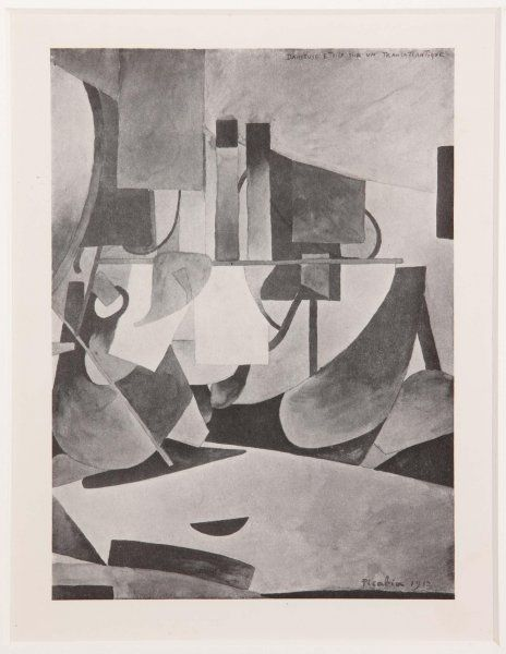 Anónimo: Francis Picabia: Star-Dancer on Board a Transatlantic Steamer (Francis Picabia: Primera bailarina sobre un transatlántico)