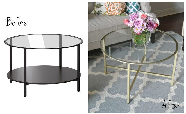 Ikea Hack Vittsjo Coffee Table Dekorera Kaffebord Bord Diy