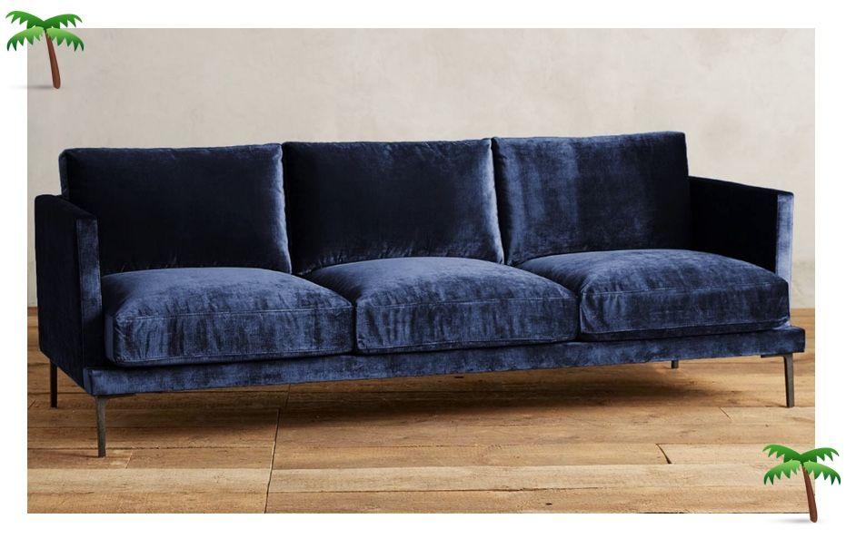 blaues samtsofa shop | seating | Pinterest | Wohnzimmer und Wohnen