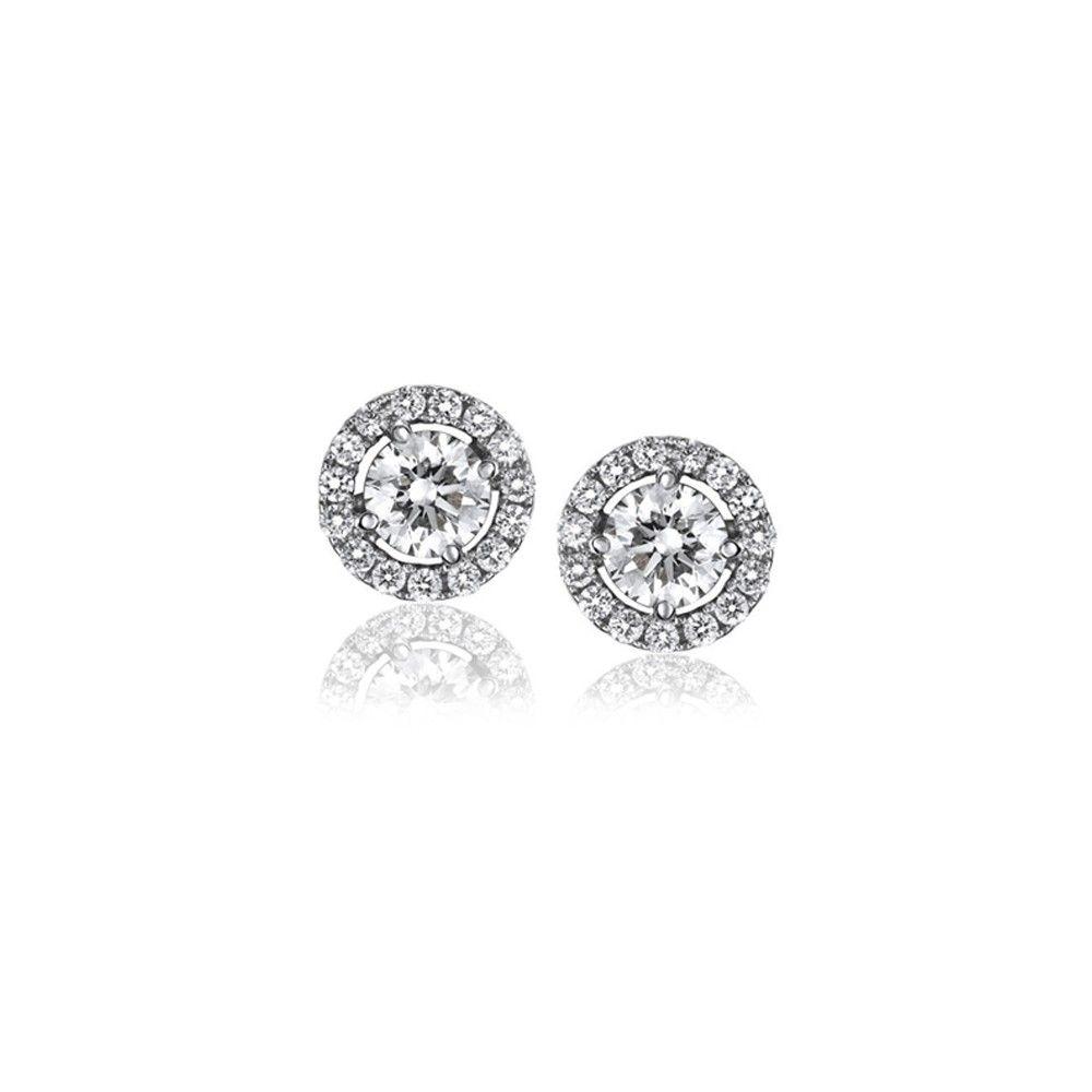 nueva colección ef711 f4005 Pendientes Aristocrazy de botón, perfectos para una novia ...