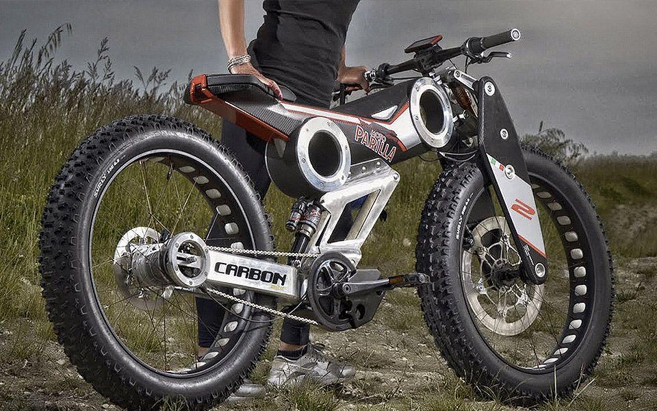 Moto Parilla Carbon SUV eBike