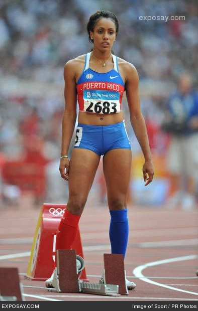 and field athletes track Female