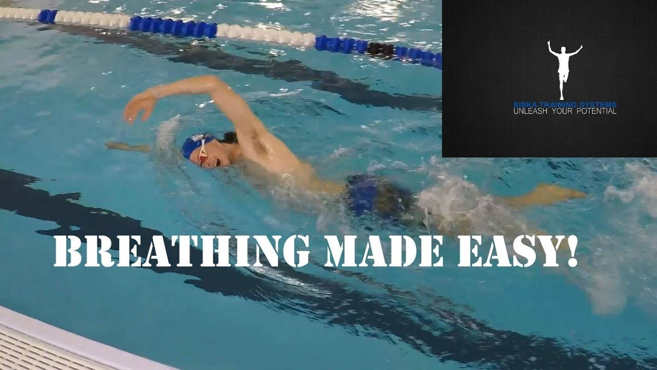 How To Breathe In Freestyle A Step By Step Guide Youtube Freestyle Swimming Swimming Workout Freestyle