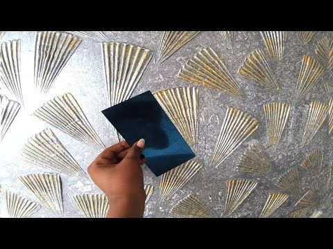 different new wall painting texture design / Asian