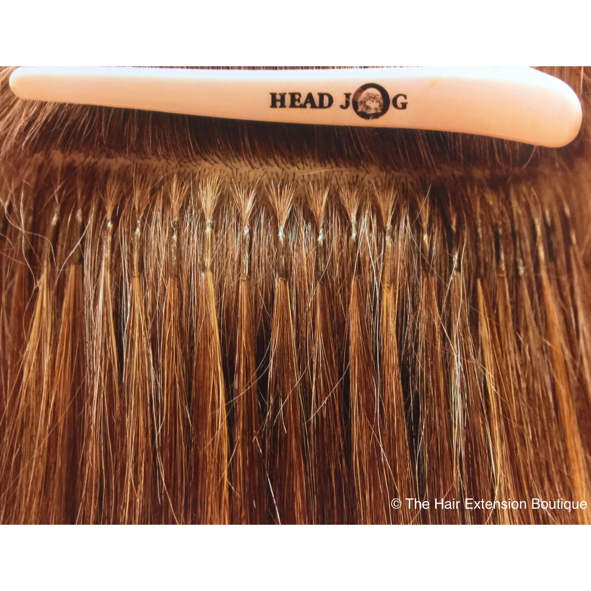 This Is How Micro Bond Hair Extensions Should Look When Applied