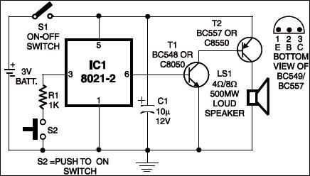 Ding Dong Bell Circuit Diagram | Ding Dong Bell Electronics Pinterest Electronics Diy